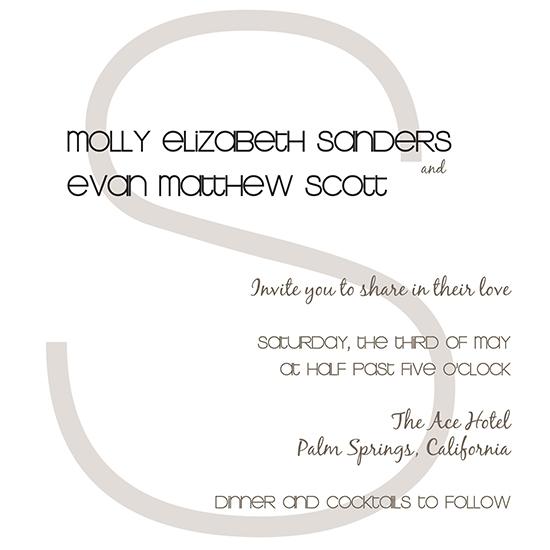 wedding invitations - Swish by Rosemary Maritote