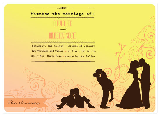 wedding invitations - The Journey by Chrystal Sudirman