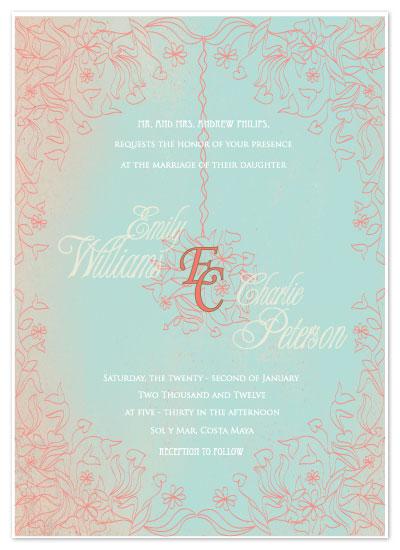 wedding invitations - Vintage Hues by Chrystal Sudirman