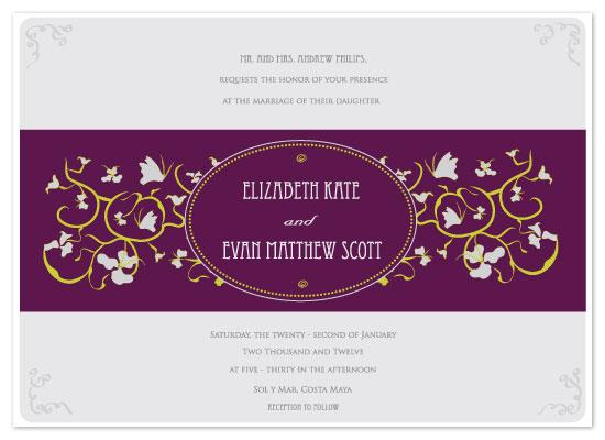 wedding invitations - Fairy Tale Gardenia by Chrystal Sudirman