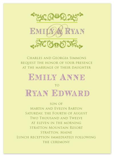 wedding invitations - Vintage Vineyard by Claar Design