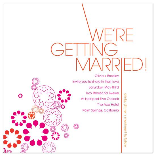 wedding invitations - moxy by Linda Loiewski