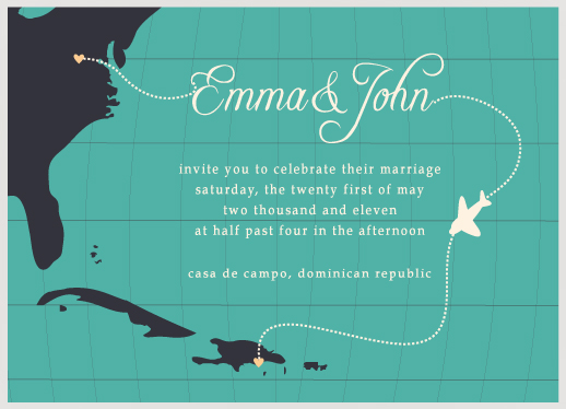 wedding invitations - High Flying Love by Preppy Paperie