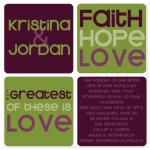 Faith, hope, love by Claar Design
