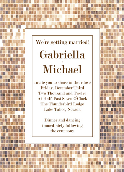wedding invitations - Sparkle by Corrine H Taylor