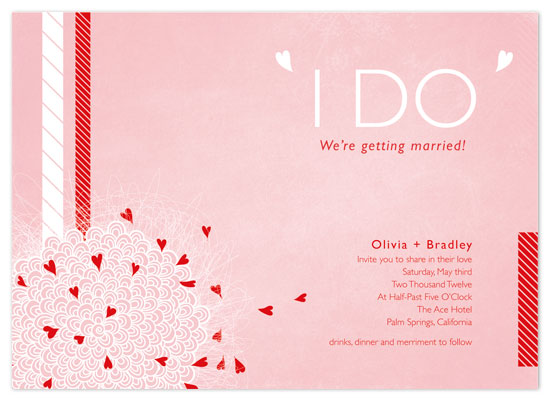 wedding invitations - Sweet by MengStudio