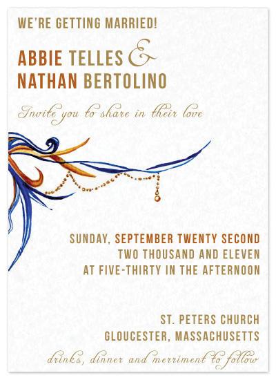wedding invitations - Dazzle Me Pretty by My Blue Sparrow