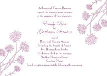Hydrangea Invite by Jenny Diederich