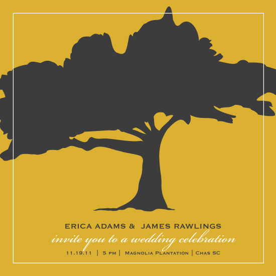 wedding invitations - Under the Oak by Laura New
