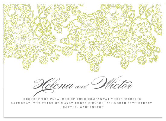 wedding invitations - CICEK by Mónica Pérez Álvarez