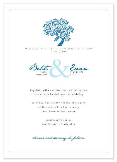 wedding invitations - Rustic Romance by Kim Wooldridge