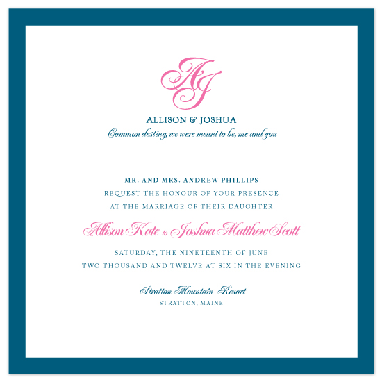 wedding invitations - Simply Stated by Kim Wooldridge