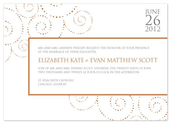 wedding invitations - Stamped Salutation by Kim Wooldridge