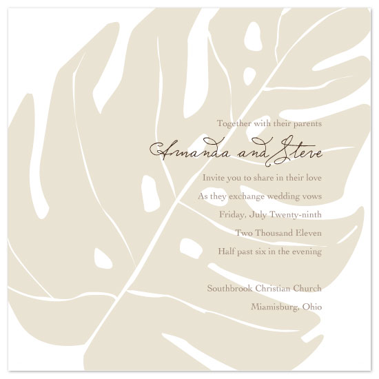 wedding invitations - love au naturale by Amy Walker