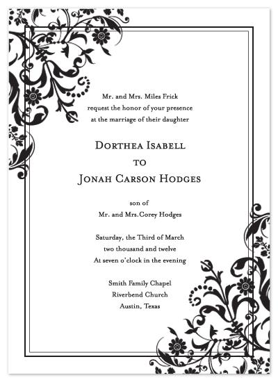 wedding invitations - Garden Grace by Dinah Hodges
