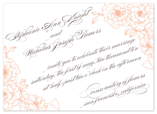 wedding invitations - bouquet by Sweet Sonoma Company