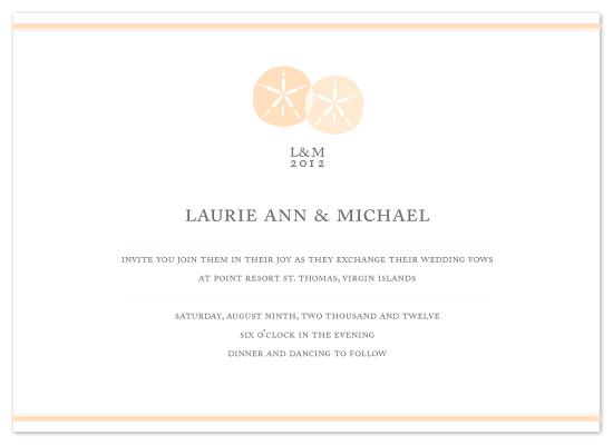 wedding invitations - Seashells Love by MelStudio
