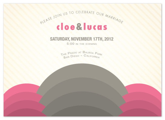 wedding invitations - Modern Deco by Lizzy B Loves