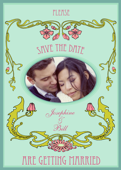 save the date cards - A very long engagement by David Hatch