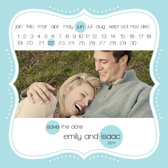 save the date cards - Mark Your Calendar by Edub Graphic Design