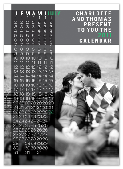 save the date cards - Your Calendar by www.project1128.com