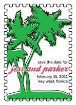 Tropical Postage Stamp by Custom Printables