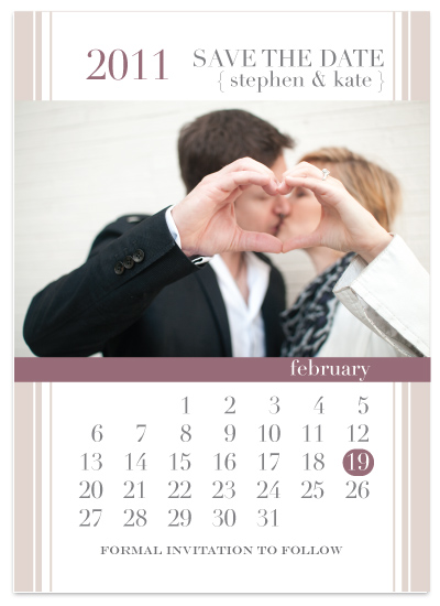 save the date cards - mark your calendars. by tucker-halm design