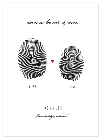 save the date cards - Imprinted by Kathleen Burlew
