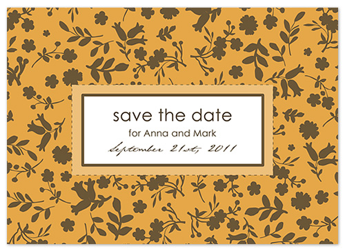 save the date cards - Fall Background by vinnie pearce