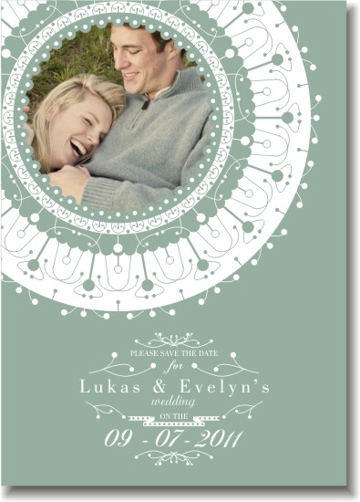 save the date cards - Pretty Picture by Fresh Cut Designs