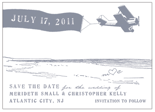 save the date cards - date in the sky by melody appel