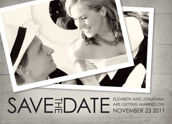 save the date cards - Photographs and Memories by Dream Tree Design