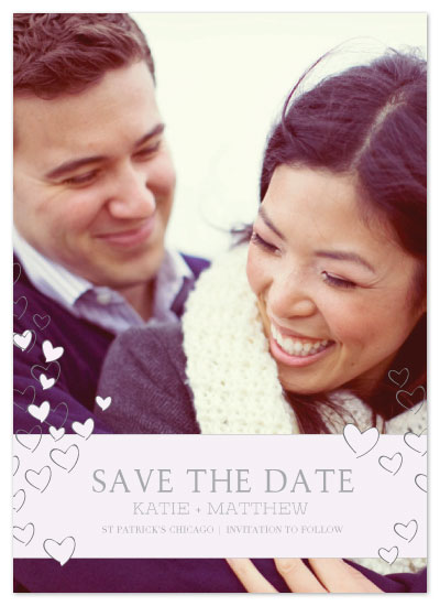 save the date cards - Heartfull Proposal by Julia