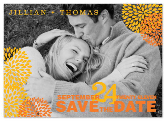 save the date cards - Mums the Word by Chelsea Marsh