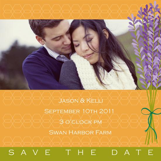save the date cards - Lavender Emotion by Sage & Grace :: Design Studio