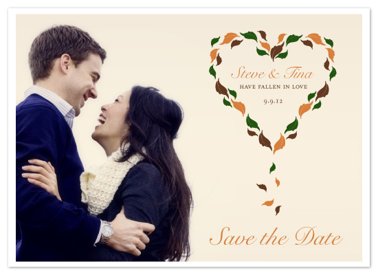 save the date cards - Fallen In Love by MelStudio