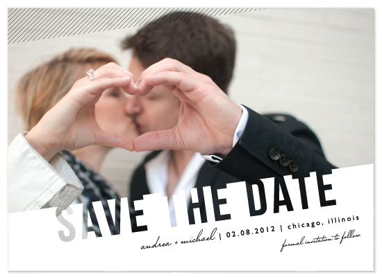 save the date cards - Simply See Through by Lehan Veenker