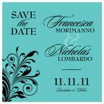 Save the Date with a Bi... by GarriguesGraphics