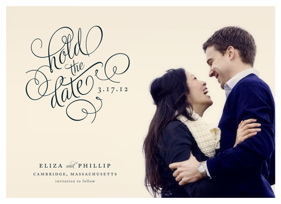 save the date cards - Hold the Date by Alston Wise