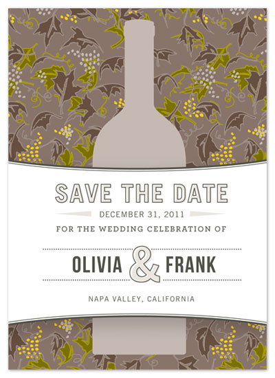 save the date cards - Harvest Toast by J Sherman Studio