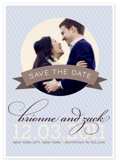 save the date cards - Winter Bliss by DELETEME