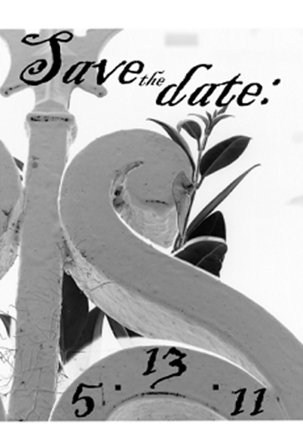 save the date cards - Save the Date Swan by Glenn Thompson