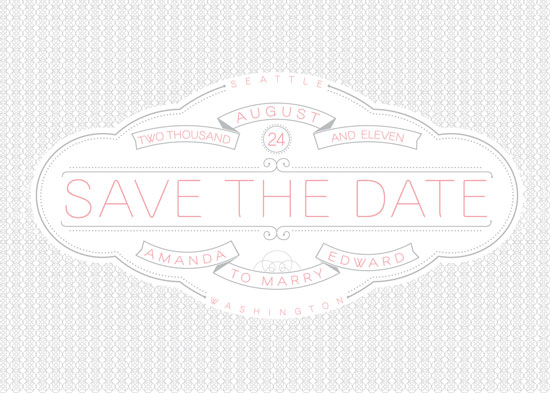 save the date cards - A Very Sweet Date to Save by Nikki Erickson