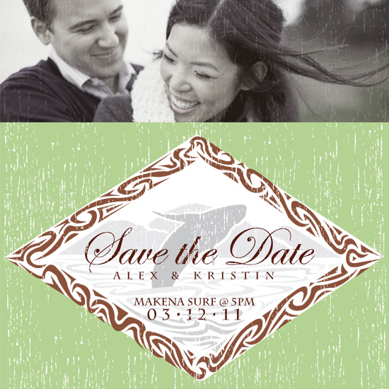 save the date cards - Makena Surf by Sage & Grace :: Design Studio