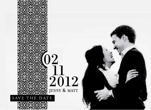 save the date cards - A Simply Elegant Affair by Saltwater Between