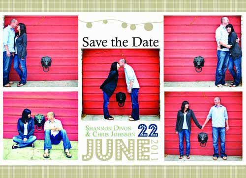 save the date cards - Summer Soiree by Saltwater Between