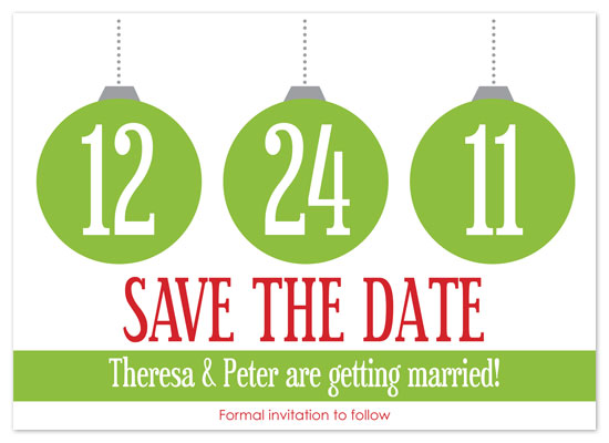 Christmas Save The Date Cards.Save The Date Cards Christmas Wedding At Minted Com