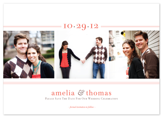 save the date cards - Simply Ours by amanda cunningham