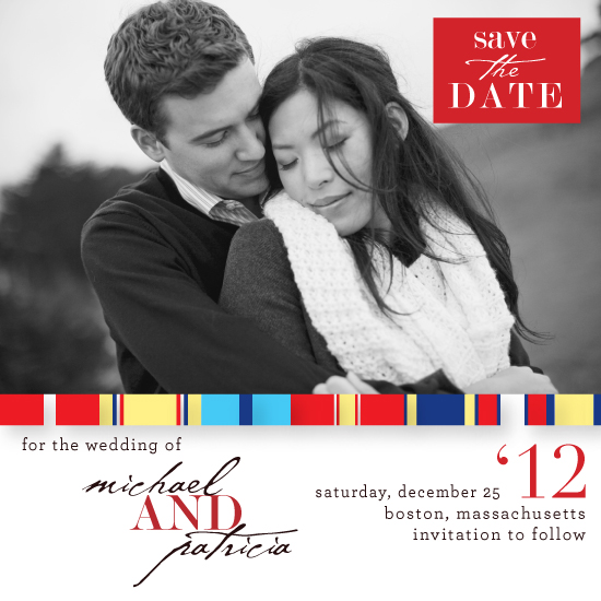 save the date cards - Ribbons of Love by LW