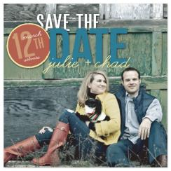 Date-stamp Save the Date